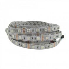 Banda LED RGB 5050 rola 5 metri 60 LED/M + Mini controller RGB Gratuit