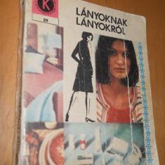 LANYOKNAK LANYOKROL - EROS BLANKA - CARTE IN LIMBA MAGHIARA - Carte in maghiara