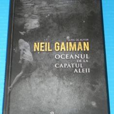 OCEANUL DE LA CAPATUL ALEII - NEIL GAIMAN (05084 - Carte Horror