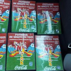 FOTBALUL NE UNESTE PE TOTI, LOT 6 CD-URI . - DVD fotbal