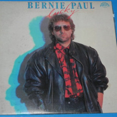 DISC VINIL LP BERNIE PAUL - LUCKY suprahon stereo - Muzica Pop