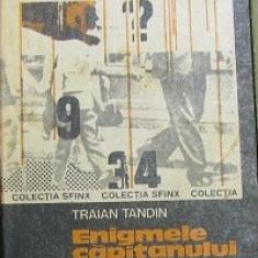 Enigmele capitanului Roman de Traian Tandin - Carte politiste