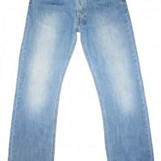 Blugi DIESEL Bootcut - (MARIME: 29) - Talie = 79 CM / Lungime = 107 CM - Blugi barbati Diesel, Culoare: Bleu, Prespalat, Normal