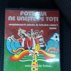 FOTBALUL NE UNESTE PE TOTI - ZIDANE - DVD fotbal
