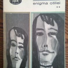 G. Calinescu - Enigma Otiliei - ** - Roman, Anul publicarii: 1967