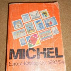 CATALOG TIMBRE MICHEL EUROPA EST 1993/94
