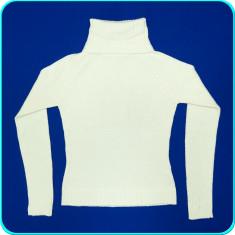 DE FIRMA → Pulover dama, IMPECABIL, calduros, din lana, ZARA → femei | marimea S, Alb
