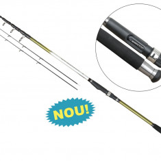 Lanseta fibra de carbon Infinity Tele Feeder 3,6m Baracuda Actiune: A: 80-120g.
