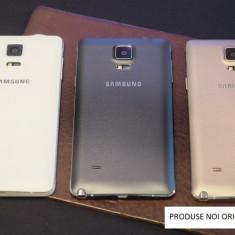 Capac baterie Samsung Galaxy Note 4  alb / negru / ORIGINAL / NOU