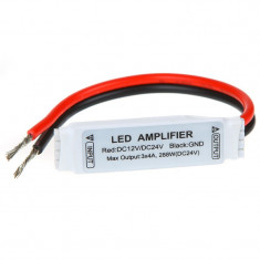 Mini amplificator RGB pentru banda sau module LED SMD 5050 3528