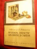 I.Korsun - Material Didactic din Hartie si Carton - Ed. Tineretului 1956
