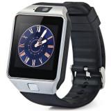 Ceas Inteligent DZ09 Bluetooth SmartWatch, Touchscreen, Cartela SIM, Foto-Video, Alte materiale, Android Wear