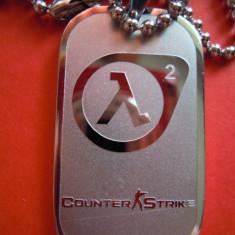 Dog Tag (DogTag) Counter Strike (Counterstrike), Half Life - Pandantiv fashion