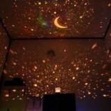 Lampa proiector de stele Star Master - Lampa veghe copii, Albastru