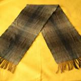 Fular lana 100% Italy / Fular barbatesc / Fular iarna din lana  143 x 30 cm