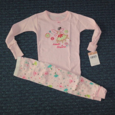 Fetite 2 ani - Nou! Osh-Kosh, pijama snug fit balerina, Culoare: Roz, Fete