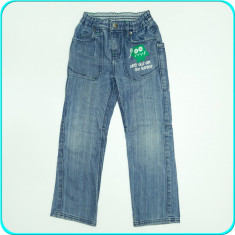 Pantaloni / blugi, denim moale, talie reglabila, OKAY _ baieti | 5 - 6 ani | 116, Marime: Alta