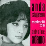 "Anda Calugareanu - Canta / Cinta Melodii De Salvatore Adamo (7"")"
