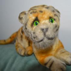 Jucarie veche tigru vintage 33 cm ciudat - Jucarii plus