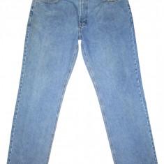(BATAL) Blugi PIONEER - (MARIME: 36) - Talie = 94 CM / Lungime = 115 CM - Blugi barbati, Culoare: Albastru, Prespalat, Drepti, Normal