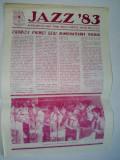 Jazz '83 - revista editata de Tribuna Sibiului