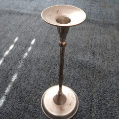 Sfesnic vintage inalt din bronz - 30 cm - Metal/Fonta