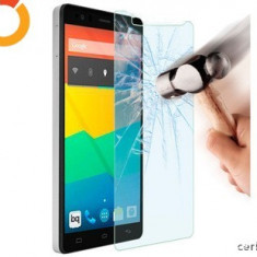FOLIE STICLA SECURIZATA LG L BELLO (D331) TEMPERED GLASS - Husa Telefon LG, Alcatel One Touch Idol X, Roz, Piele Ecologica, Cu clapeta, Husa