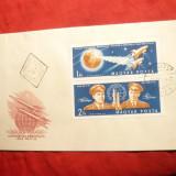 Plic FDC - Cosmos - Vostok 3 si 4 -1962 Ungaria, 2 val.