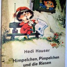 Spiridusii padurii (lb germana) - Hedi Hauster / Coca Cretoiu Seinescu - 1974 - Carte de povesti