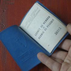 Carnet de membru si permis de pescuit RSR - anii 70 !!! - Pasaport/Document