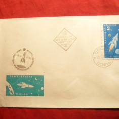 Plic FDC - Cosmos - Venus -Bulgaria 1961, 1 val.