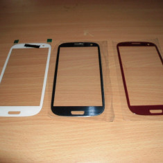 Pachet geam Samsung Galaxy S3 i9300  + acumulator + folie sticla