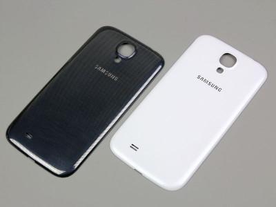 Pachet capac Samsung Galaxy s4  + folie sticla fata + acumulator foto