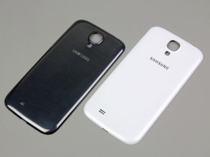 Pachet capac Samsung Galaxy s4  + folie sticla fata + acumulator