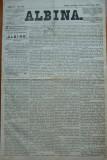 Ziarul Albina , nr. 105 , 1871 , Budapesta , in limba romana , Director V. Babes