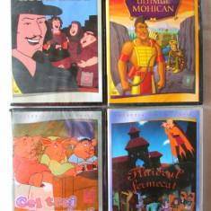 4 DVD-uri din COLECTIA PENTRU COPII, 2013. Audio engleza subtitrat in lb. romana