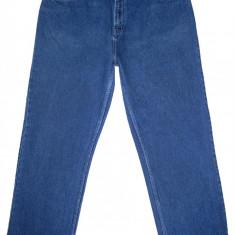 (BATAL) Blugi GEORGE - (MARIME: 38 x 29) - Talie = 97 CM / Lungime = 109 CM - Blugi barbati, Culoare: Albastru, Prespalat, Drepti, Normal