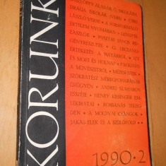 KORUNK NR 2 / 1990 - CARTE IN LIMBA MAGHIARA - Carte in maghiara