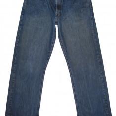 Blugi VOLCOM - (MARIME: 36 x 34) - Talie = 95 CM / Lungime = 120 CM - Blugi barbati, Culoare: Albastru, Prespalat, Drepti, Normal