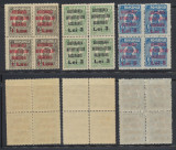 ROMANIA 1923 BASARABIA serie sursarj Ferdinand Infometatii Basarabiei bloc 4 MNH, Istorie, Nestampilat