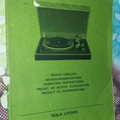 CARTE TEHNICA HC 15 - NC 150 PICKUP TESLA LITOVEL - Carti Electronica