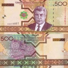 TURKMENISTAN 500 manat 2005 UNC!!!