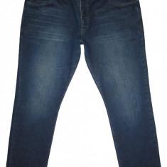 (BATAL) Blugi NEXT (Slim Fit) - (MARIME: 40) - Talie = 108 CM; Lungime = 107 CM - Blugi barbati, Culoare: Bleumarin, Prespalat, Normal