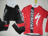 Echipament ciclism complet iarna toamna specialized Deltaco set thermal fleece