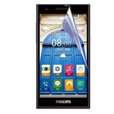 Folie Philips S396 Transparenta - Folie de protectie Philips, Lucioasa