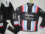 Echipament ciclism complet iarna toamna focus rapha set thermal fleece