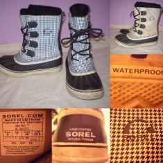 Cizme SOREL Waterproof (40) dama zapada iarna impermeabile ghete - Ghete dama, Culoare: Din imagine