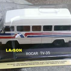 Macheta metal DeAgostini Rocar TV-35 NOUA+ revista Masini de Legenda nr.80 - Macheta auto, 1:43