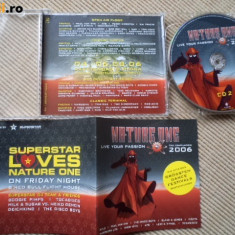 Nature One Various 2006 Live Your Passion house techno trance electro disc 2 cd - Muzica House