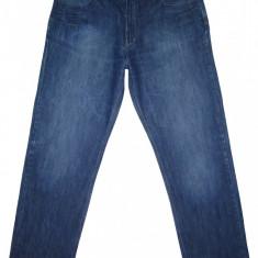 (BATAL) Blugi WESTBURY - (MARIME: 40 x 34) - Talie = 99 CM; Lungime = 116 CM - Blugi barbati, Culoare: Albastru, Prespalat, Drepti, Normal